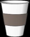 стакан с капхолдером