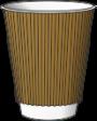 гофрированный стакан