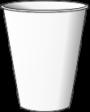 однослойный бумажный стакан
