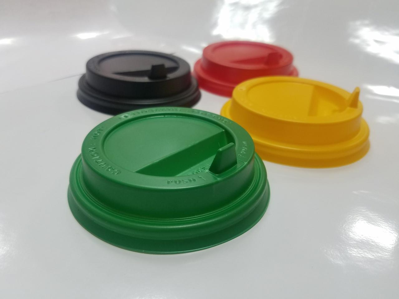 разноцветные крышки