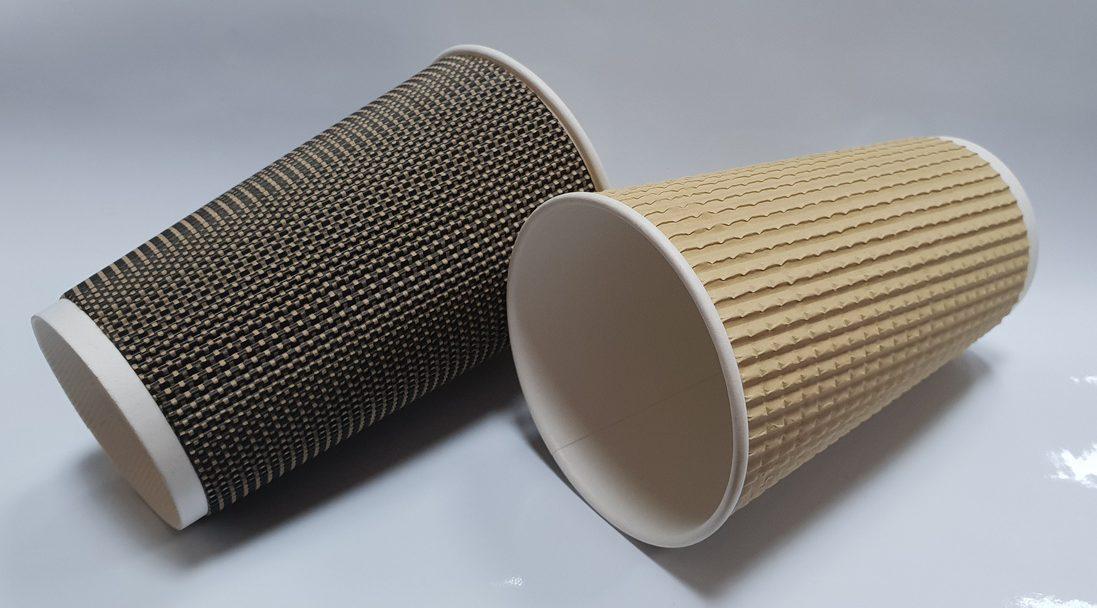 Брендирование бумажных стаканов для кофе и другой