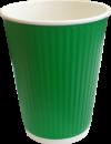 рифленый бумажный стакан