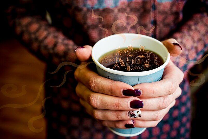 стакан для кофе